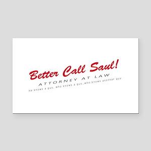 'Better Call Saul!' Rectangle Car Magnet