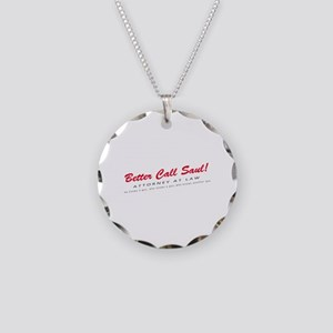 'Better Call Saul!' Necklace Circle Charm