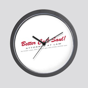 'Better Call Saul!' Wall Clock