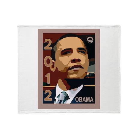 OBAMA GRAPHIC: Throw Blanket