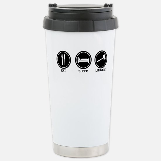 Funny Litigator Travel Mug