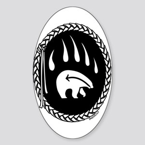 Native Bear Art Sticker Tribal Art Sticker
