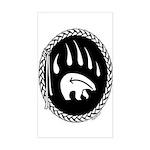Native Bear Art Sticker Tribal Art Sticker