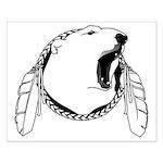 First Nations Bear Art Print Tribal Bear Poster