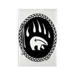 Tribal Bear Claw Rectangle Magnet (100 pack)