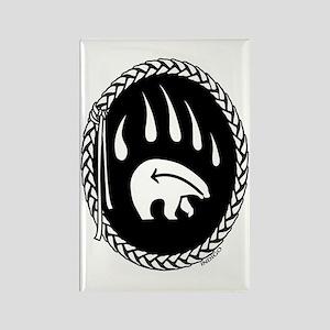 Tribal Art Magnet First Nations Bear Art Magnet
