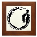 Tribal Bear Claw Framed Tile