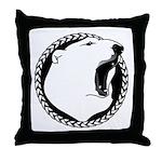 Tribal Bear Art Throw Pillow