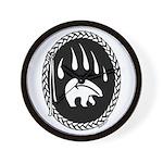Tribal Bear Art Clock First Nations Decor & Gi