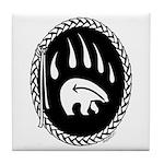 First Nations Bear Art Tile Coaster