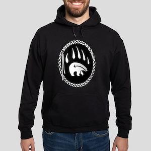 First Nations Bear Art Hoodie (dark)