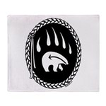 Tribal Art Throw Blanket First Nations Gifts
