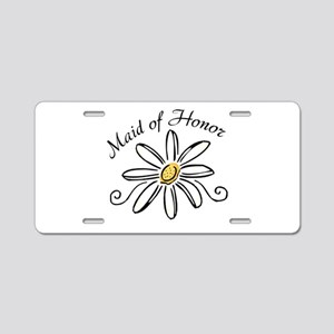 Daisy Maid of Honor Aluminum License Plate