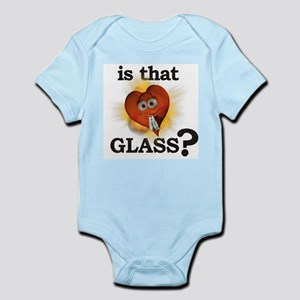 Is That GLASS? Infant Creeper