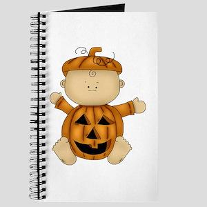 Cute Pumpkin-Baby Journal