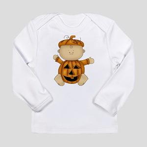 Cute Pumpkin-Baby Long Sleeve Infant T-Shirt
