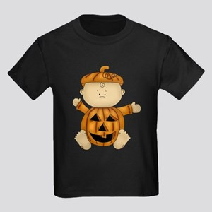 Cute Pumpkin-Baby Kids Dark T-Shirt