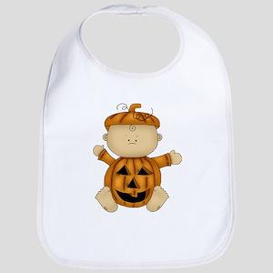 Cute Pumpkin-Baby Bib