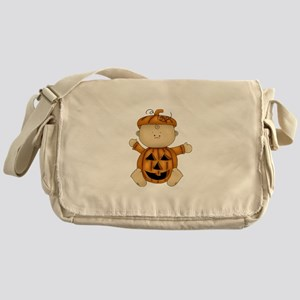 Cute Pumpkin-Baby Messenger Bag