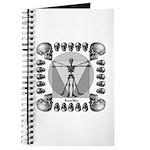 leonardo skull Journal