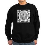 leonardo skull Sweatshirt (dark)