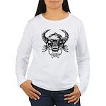 kuuma skull 1 Women's Long Sleeve T-Shirt