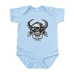 kuuma skull 1 Infant Bodysuit