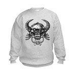 kuuma skull 1 Kids Sweatshirt