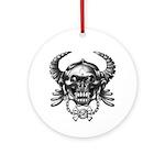 kuuma skull 1 Ornament (Round)