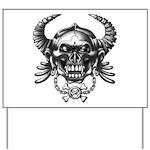 kuuma skull 1 Yard Sign