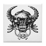 kuuma skull 1 Tile Coaster
