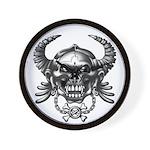 kuuma skull 1 Wall Clock