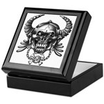 kuuma skull 1 Keepsake Box