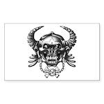 kuuma skull 1 Sticker (Rectangle 50 pk)