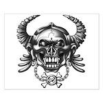 kuuma skull 1 Small Poster