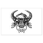 kuuma skull 1 Large Poster