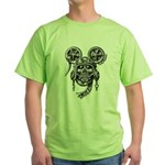 kuuma skull 2 Green T-Shirt