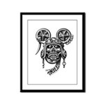 kuuma skull 2 Framed Panel Print