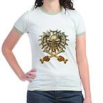 kuuma skull 3 Jr. Ringer T-Shirt
