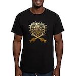 kuuma skull 3 Men's Fitted T-Shirt (dark)