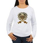 kuuma skull 3 Women's Long Sleeve T-Shirt