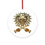 kuuma skull 3 Ornament (Round)
