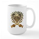 kuuma skull 3 Large Mug