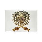 kuuma skull 3 Rectangle Magnet (100 pack)