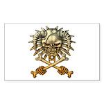 kuuma skull 3 Sticker (Rectangle 50 pk)