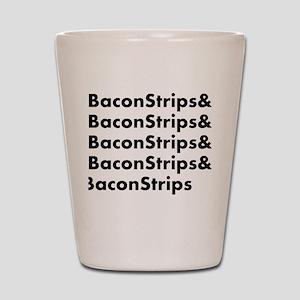 Bacon Strips Shot Glass