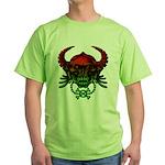 kuuma skull 4 Green T-Shirt