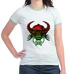 kuuma skull 4 Jr. Ringer T-Shirt