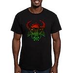 kuuma skull 4 Men's Fitted T-Shirt (dark)
