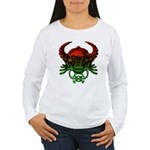 kuuma skull 4 Women's Long Sleeve T-Shirt